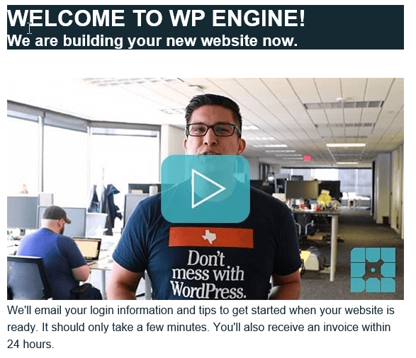 Welcome to WP Engine