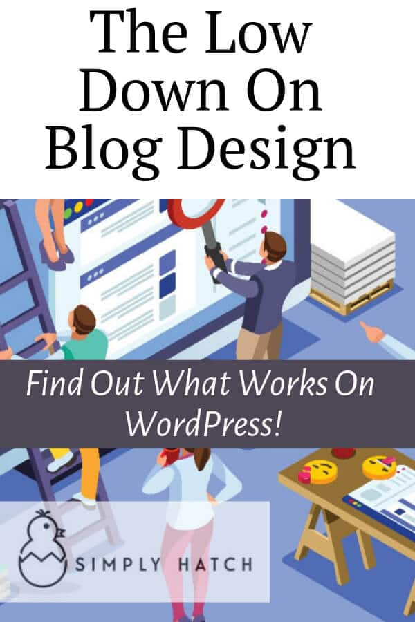 8 Blog Design Tips For Beginners (Get A Blog That Rocks)  Before choosing your theme, think about good blog design.  These blog design tips for beginners will help you get your design right from the word go.