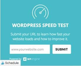 WP Speed test