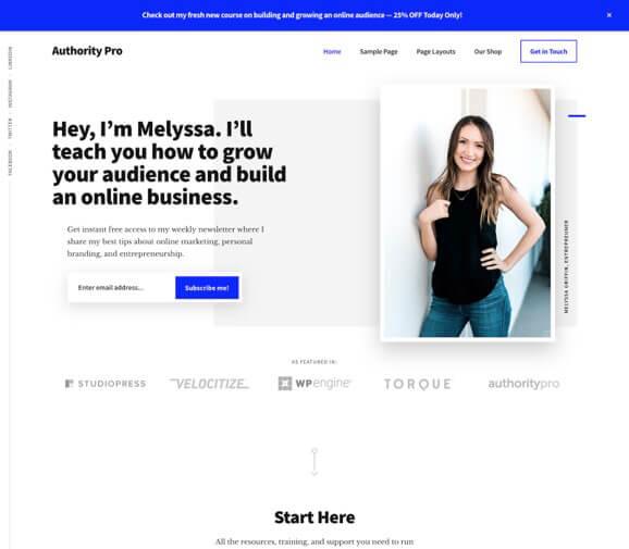StudioPress Authority Pro