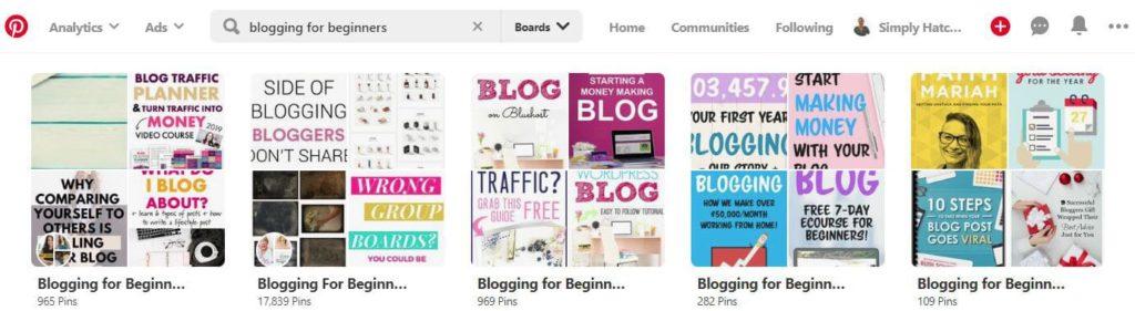blogging for beginners