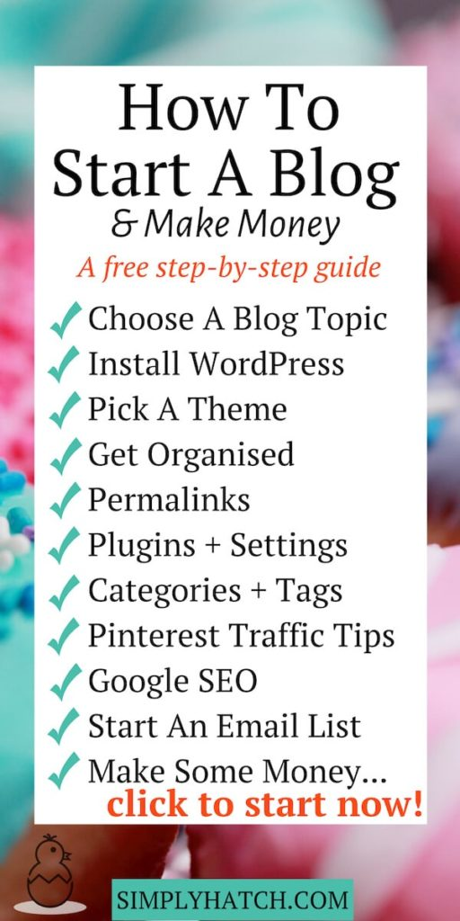 How To Make A Blog >> How To Make Money With A Wordpress Blog Step By Step Guide