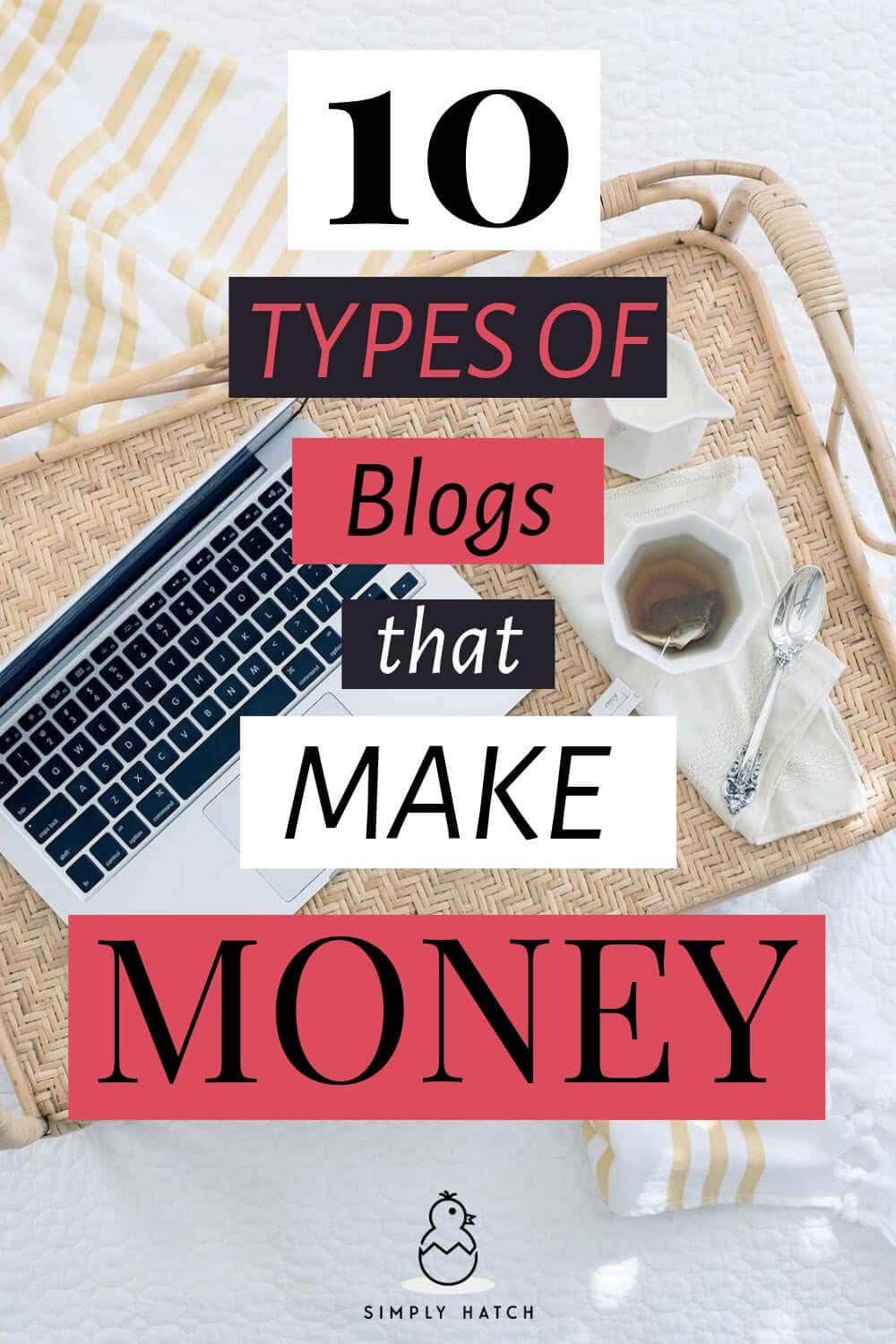 I\'d love you to just start a blog and figure it out along the way. But there are a few rules to follow when it comes to the types of blogs that make money.