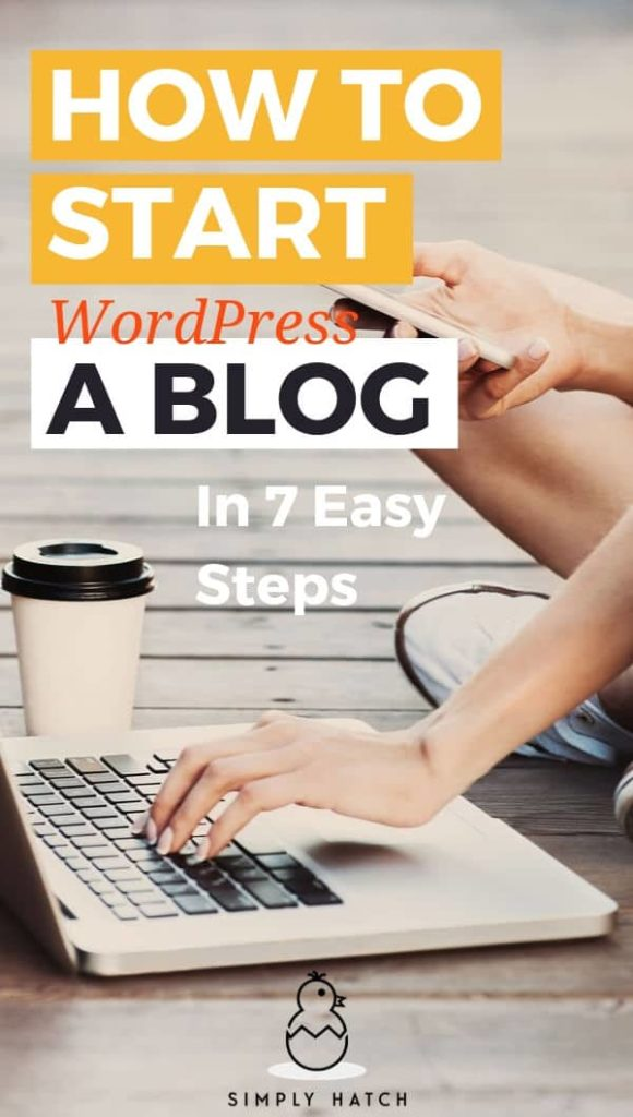 how to set up your wordpress blog on bluehost