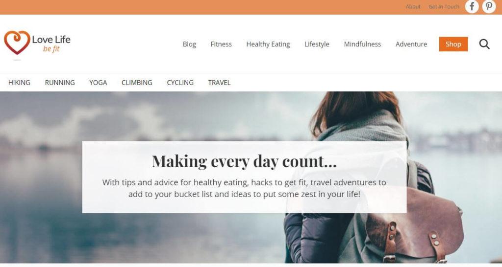 Start a blog - lifestyle blog