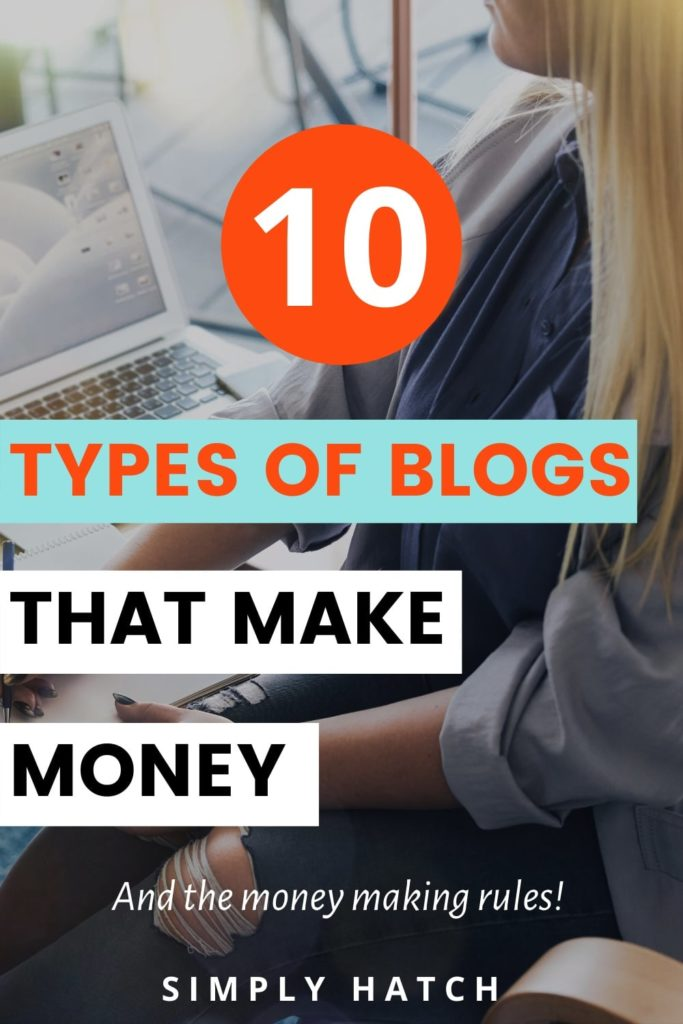 10 types of blogs that make money