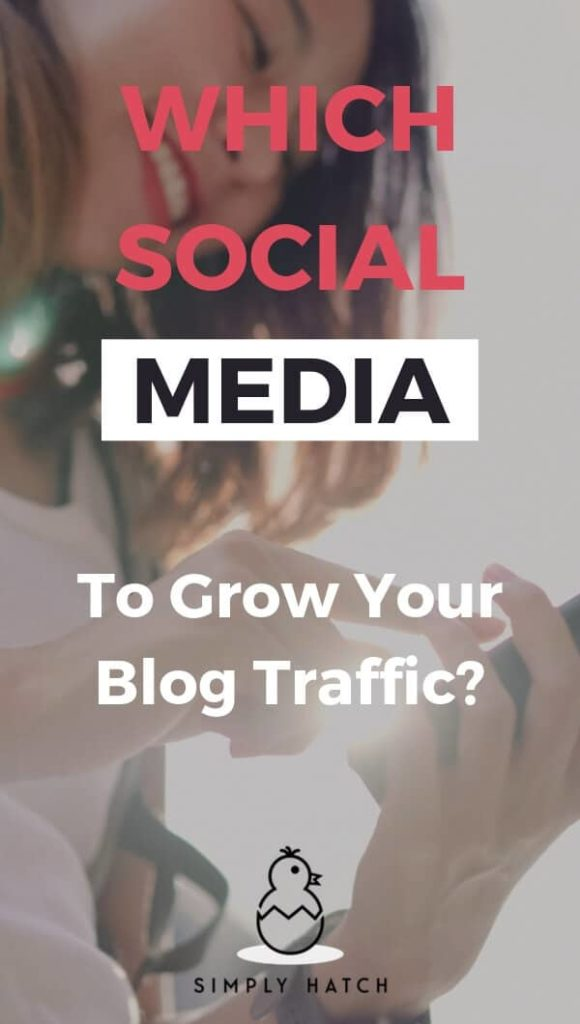 Love it or hate it, social media is impossible to ignore if you want traffic. It will be the number one source of traffic for your new blog. #socialmedia #websitetraffic #increaseblogtraffic