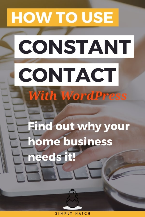 Constant Contact essential for your home business