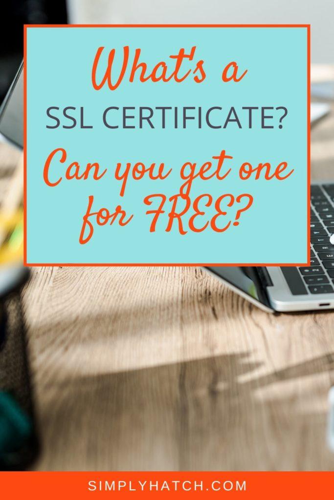 Free SSL Certificate HostGator