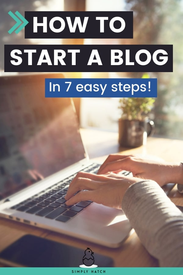 Start a Blog to Make Money or Drive Traffic to your Business with these 7 Easy Steps. Download this easy step-by-step guide to launch your blog in no time! #startablog #makemoneyblogging #blogging101