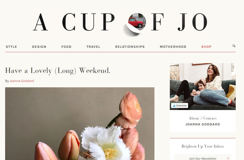 A Cup Of Jo