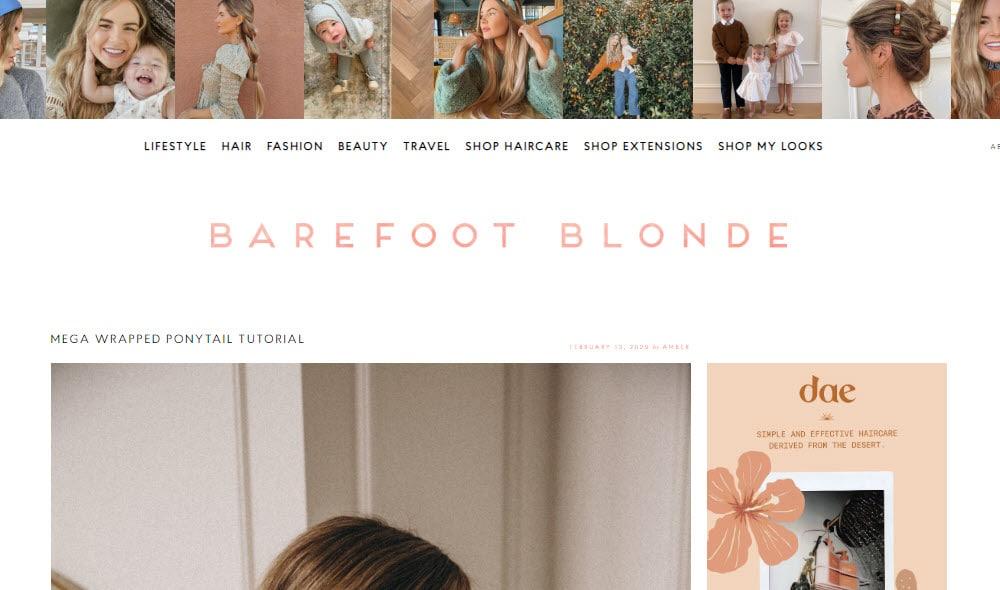 Inspiring lifestyle blogs.
