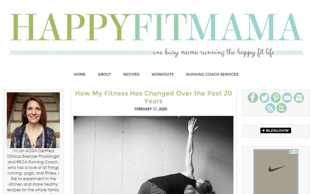 Inspirational lifestyle blogs.