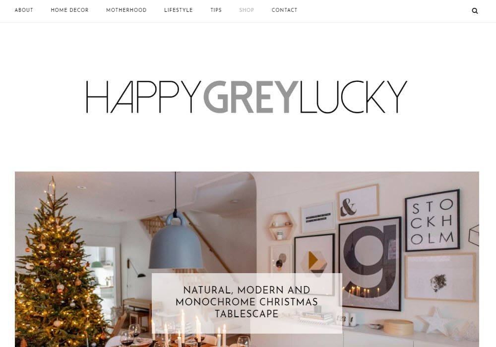 Happy Grey Lucky
