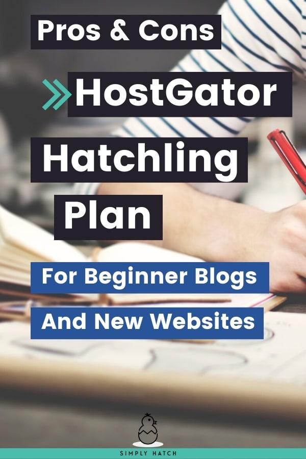 HostGator Hatchling Plan