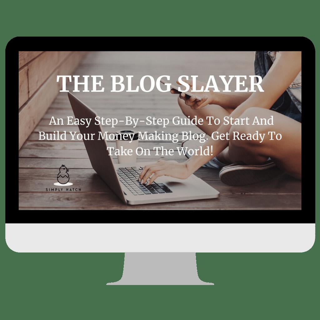 start a blog course