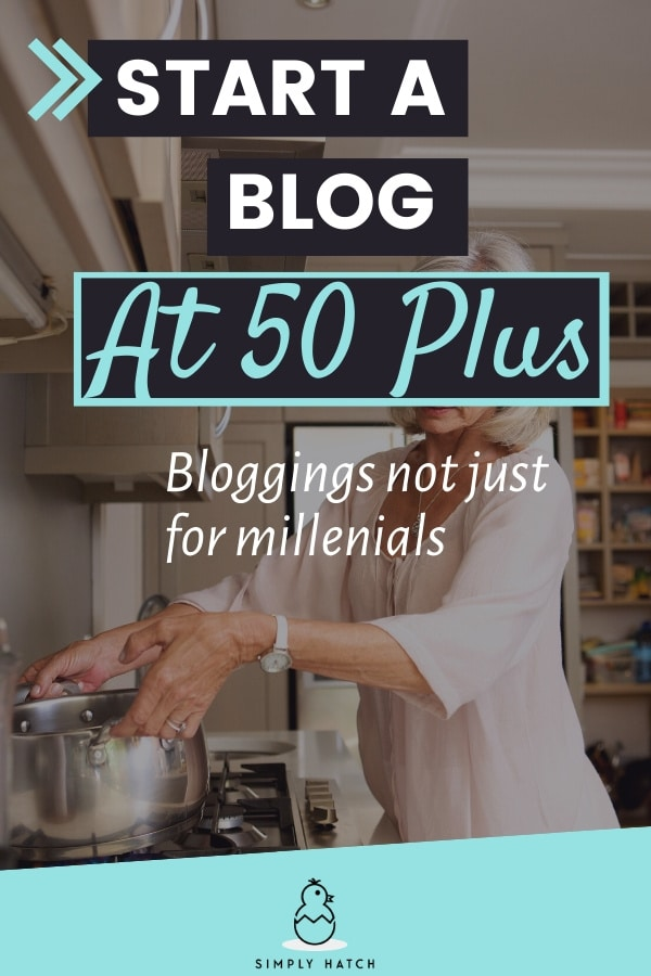 start a blog at 50+