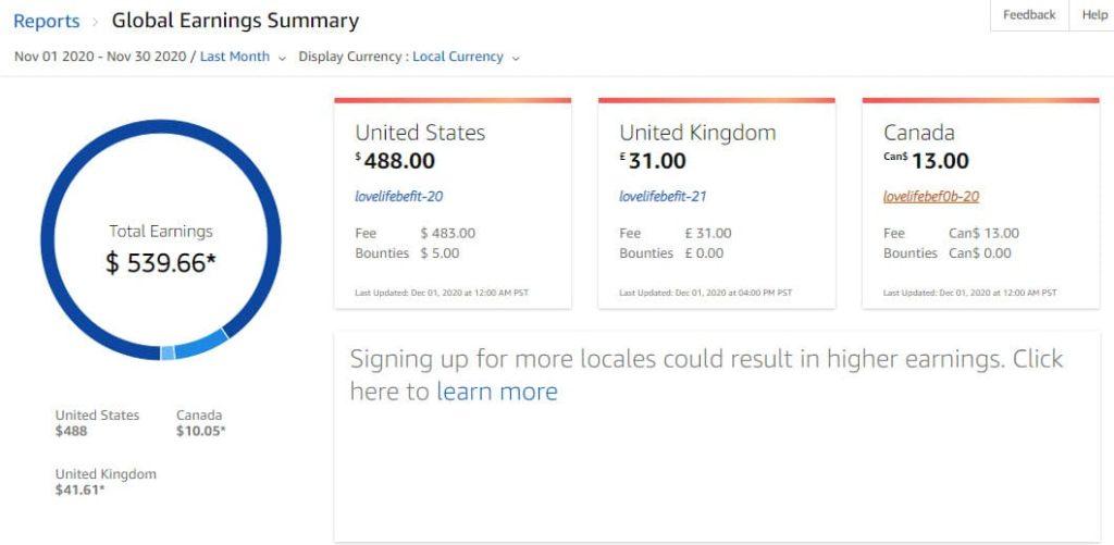 Amazon november earnings
