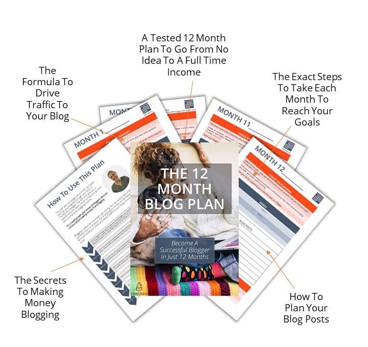 12 Month Blog Plan Schedule