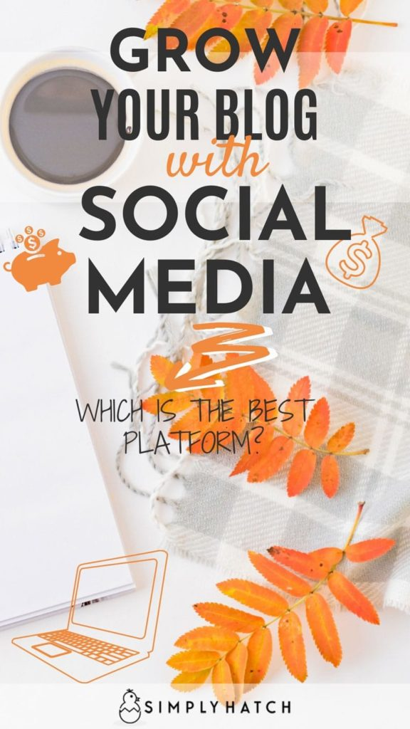 Grow blog traffic with social media