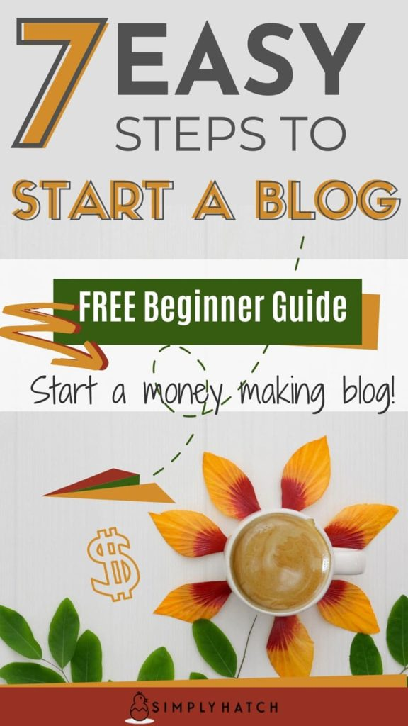 start a blog in 7 easy steps